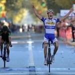 Jelle Wallays beats Voeckler in Paris-Tours classic