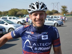 Pieter Seyffert won the 55km Bestmed Lost City MTB race at Sun City in the North-West Province. Photo: Full Stop Communications