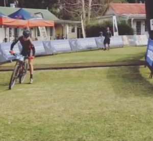 Willem Landman won stage one of the 2015 Storms River Traverse, which started at the Tsitsikamma Village Inn in Storms River today. Photo: Supplied