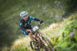 Simone Rhoda Van Aardt led the way for the ladies in stage 2 of the FNB Wines 2 Whales MTB Adventure