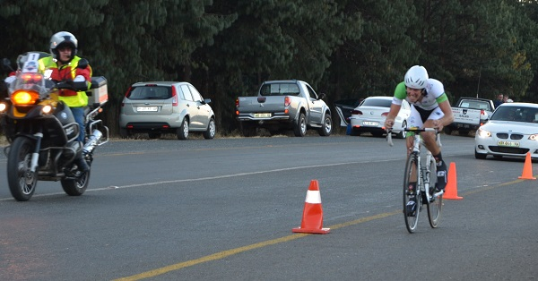 JC Nel in action at the Bestmed Jock Tour today. Photo: Supplied