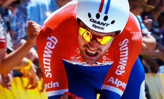 Dutchman Tom Dumoulin won the 13th stage of the 2016 Tour de France. Photo: SuperSport