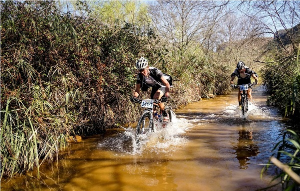 Trans Baviaans is famous for its river crossings and riders can expect to get their feet wet this year, even with the rivers at a moderate level. Photo: Jacques Marais
