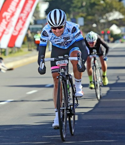 Port Elizabeth's former champion Anriette Schoeman will be chasing a second title when she turns out for Team Bestmed-ASG at the 947 Cycle Challenge in Johannesburg on Sunday. Photo: Supplied