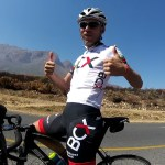 Steven van Heerden on a training ride before Bestmed Tour of Good Hope.