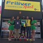Nicholas Dlamini reaches new heights at Baby Giro