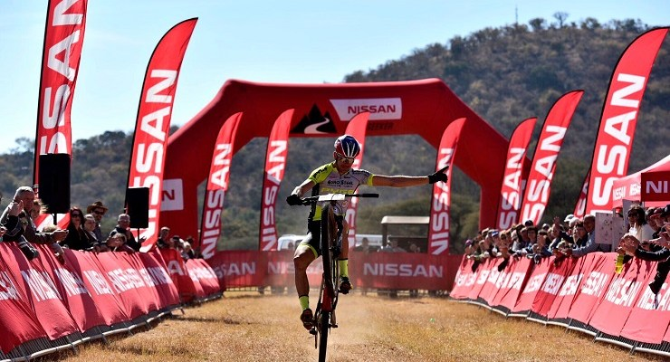 Philip Buys won the third leg of the 2017 Trailseeker Series at the Mabalingwe Nature Reserve just outside Bela Bela, Limpopo, today.