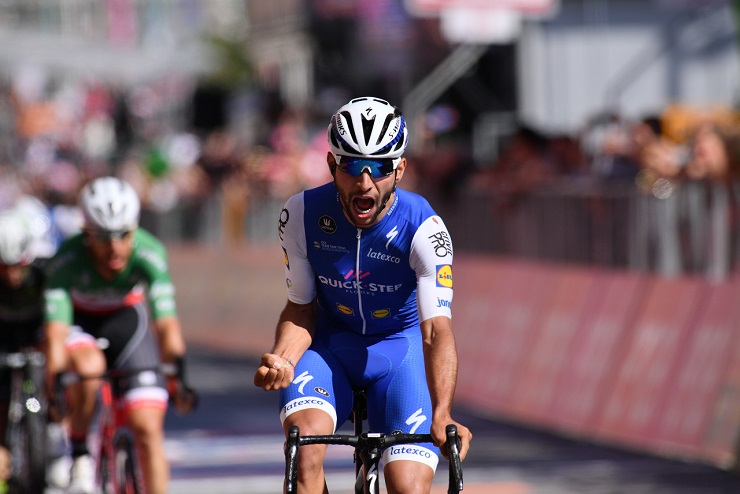 Quick-Step Floors' Fernando Gaviria won stage four of Tour of Britain today.