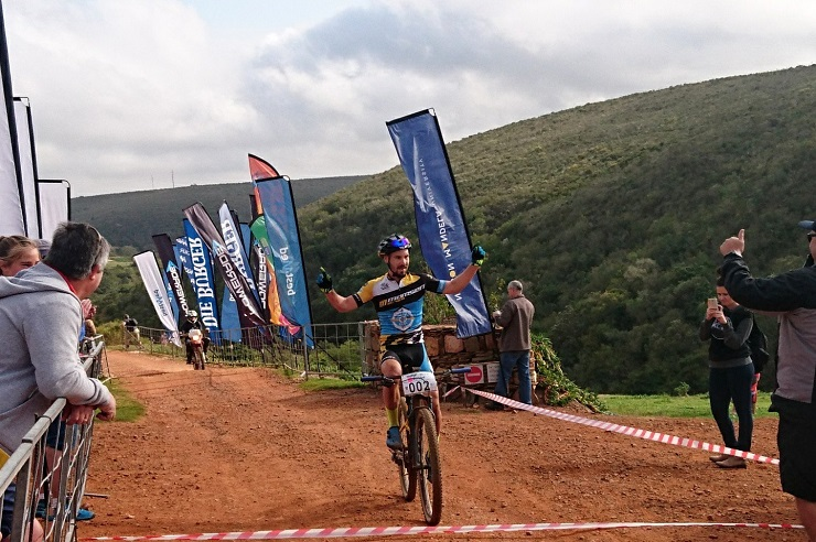 Marco Joubert won the 55km Makro Bestmed MTB Tour at Hopewell Conservation Estate in Port Elizabeth today.
