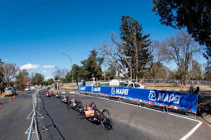 Competition at the Para-cycling Road World Championship