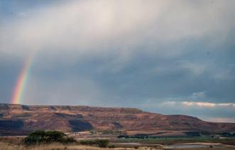 An image of the beautiful scenery riders got to enjoy on the opening stage of the Berg and Bush 'Great Trek'.