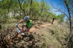 Pictured here are some riders on route during stage of the Berg and Bush 'Great Trek'.