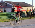 Bradley Gouveris won the criterium on the second day of the Festival of Cycling