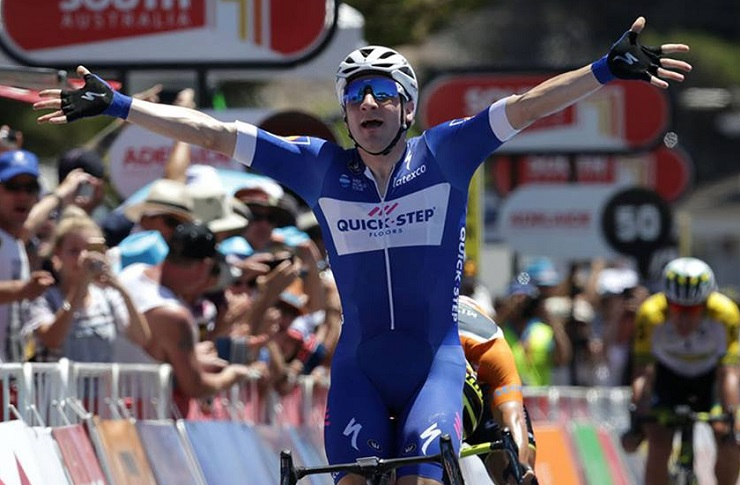 Viviani wins 3rd stage of Tour Down Under