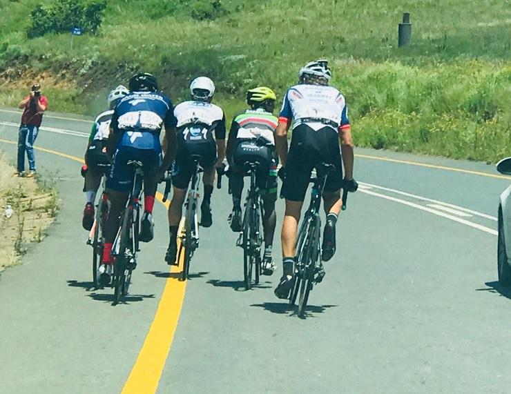 Calvin Beneke bites bullet to win stage five of Mpumalanga Tour