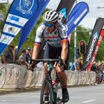 Calvin Beneke, pictured at the SA National Road Championships, will look to defend his title at the Ride for Sight in Boksburg, on Sunday. Photo: Into Cycling