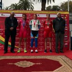 Teenager Courtney Smith 'steps up' at African Continental Track Championship