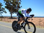 Stefan de Bod, pictured here, reaped valuable experience from his time-trial victory at the SA National Road Championships time-trial yesterday. Photo: Into Cycling
