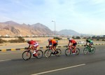 Katusha-Alpecin's Nathan Haas won the second stage of the Tour of Oman in Al Bustan today. Photo: Tour of Oman
