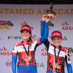 Candice Lill, Amy McDougall win Cape Epic African women's special jersey