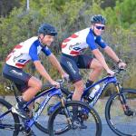 The ASG-Ellsworth pair of Stuart Marais (left) and HB Kruger will be hoping to build on their recent successes with a strong performance at the Cape Epic. Photo: Supplied