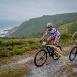 Two riders in action during the second stage of the 2018 PE Plett.