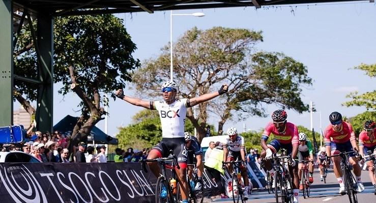 Nolan Hoffman wins Amashova Durban Classic