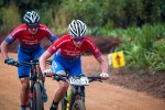 dormakaba's Carmen Buchacher (front) and Paris Basson in action at the Winelands Encounter