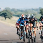 Cyclists in action during stage one of the inaugural Tour de Limpopo
