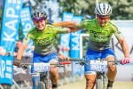 Team dormakaba SA's Amy McDougall and Samantha Sanders are prepared for a tough but exciting race at the inaugural three-day Bezhoek Extreme MTB Festival. Photo: Supplied