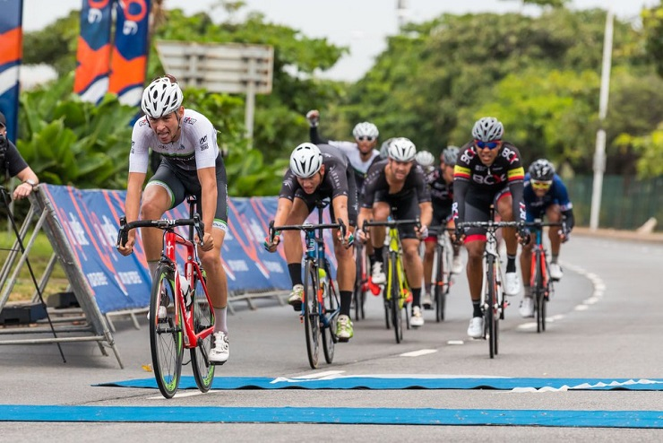 ProTouch's Gustav Basson, pictured here winning Tour Durban