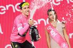 Mitchelton-Scott's Simon Yates extended his race lead of the Giro d'Italia after climbing to victory in stage nine. Photo: Gian Mattia D'Alberto/LaPresse