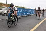 Demacon Ladies member Carla Oberholzer races for the line in the Berge en Dale road race