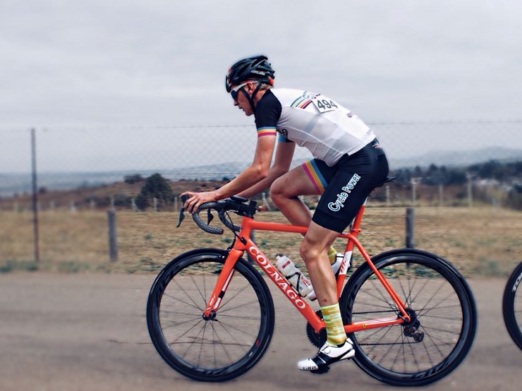 Cycle Power's John Vlok is confident about taking on the trapNET 360 cycle race, despite having a depleted team. Photo: Supplied