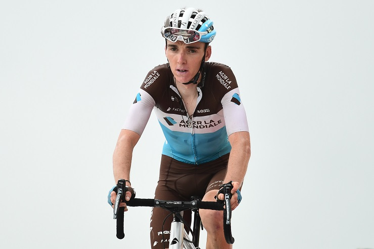 Romain Bardet during stage 17 of the 2018 Tour de France