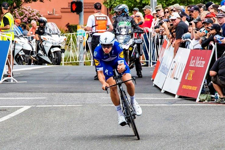 Quick-Step Floors' Alvaro Hodeg (pictured) won the 139km third stage of the Tour de Pologne in Zabrze, Poland, yesterday. Photo: Photo credits