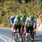 Team Dimension Data have welcomed three stagiares - Kent Main, Matteo Sobrero and Connor Swift - to be part of the team for the rest of the season. Photo: Rob Ward