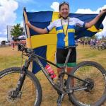 Jennie Stenerhag defied all the odds to defend her Swedish national marathon championship title for the sixth consecutive time in Motala, Sweden, on Saturday. Photo: Supplied