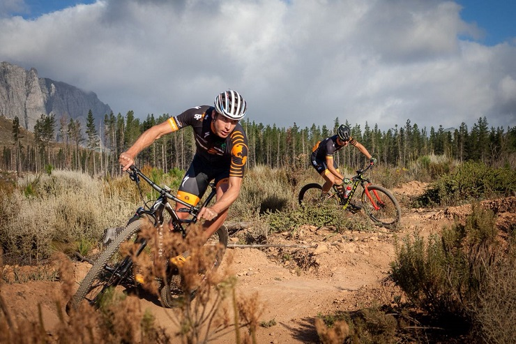 Timothy Hammond will be hoping to defend his title in the Trans Baviaans feature race which starts in Willowmore at 10am tomorrow and ends in Jeffreys Bay. Photo: Xavier Briel