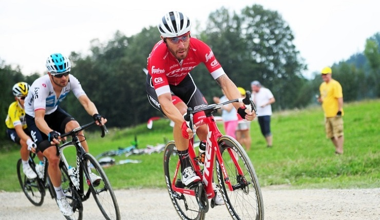 The 29-year-old Giacomo Nizzolo recently signed a two-year deal with Team Dimension Data