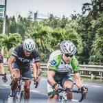 ProTouch's Myles van Musschenbroek at Tour de Maurice