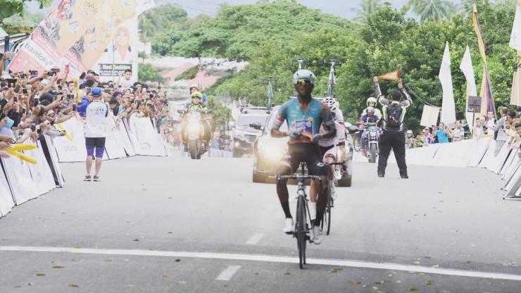 South Africa's Clint Hendricks won stage sixof the Tour de Singkarak