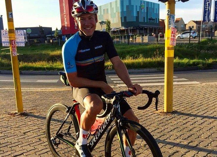 Maurice Moller (pictured) is cautiously optimistic ahead of the second edition of the Tshwane Classic this weekend. Photo: Facebook/Cycle Power