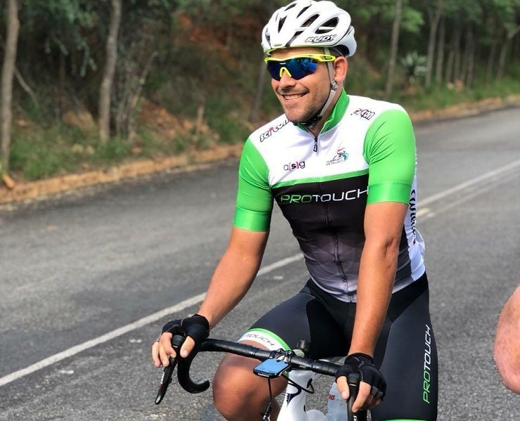 Pieter Seyffert said he was honoured to have been appointed captain of the ProTouch Continental team from next year, having been on the brink of announcing his retirement. Photo: Supplied
