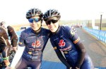Sanet Coetzee (left) and Zanri Rossouw will spearhead Team Clover at the 947 Cycle Challenge in Johannesburg on Sunday. Photo: Cycle Nation