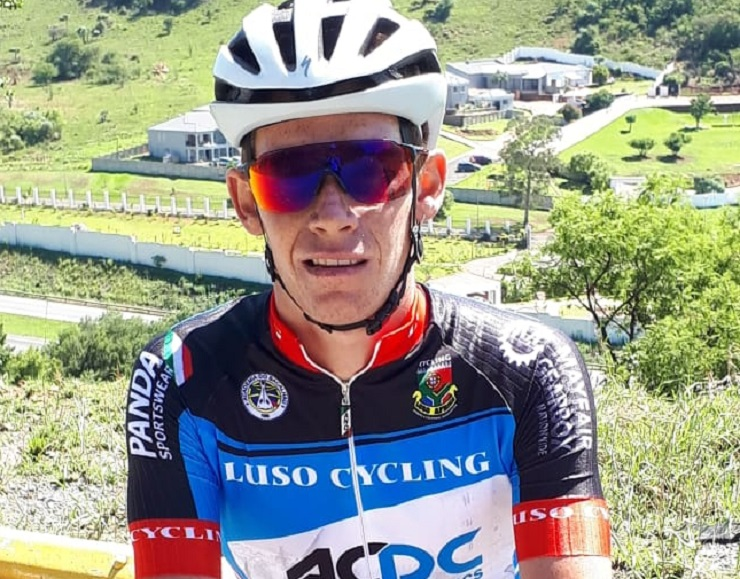 Chris Jooste (pictured) will link up with his former team Luso AC/DC for the Mpumalanga Tour as he prepares for his stint in Europe at the end of February. Photo: Supplied