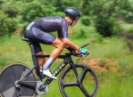 Jason Oosthuizen pictured during his individual time-trial at the Gauteng Road Champs over the weekend. Photo: Carly Patten