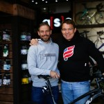 Former Springbok rugby captain John Smit and Pieter Seyffert