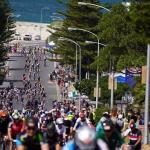 A great overview photo of the mass of cyclists who took part in the Cape Town Cycle Tour today. Photo: Chris Hitchcock