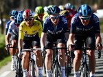 Team Sky's Michal Kwiatkowski (left) retained his overall lead of the Paris-Nice after the third and final stage concluded today. Photo: A.S.O./Alex Broadway